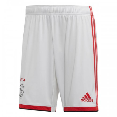Ajax Home Soccer Shorts 19 20
