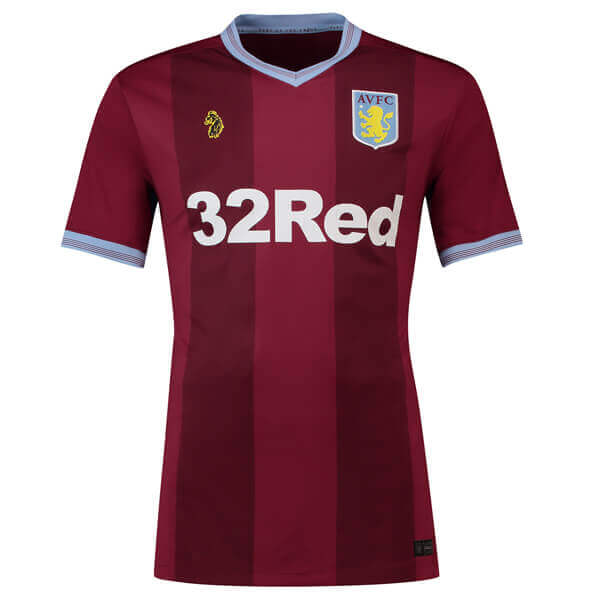 Aston Villa Home Football Shirt 18 19 - SoccerLord 83790e994