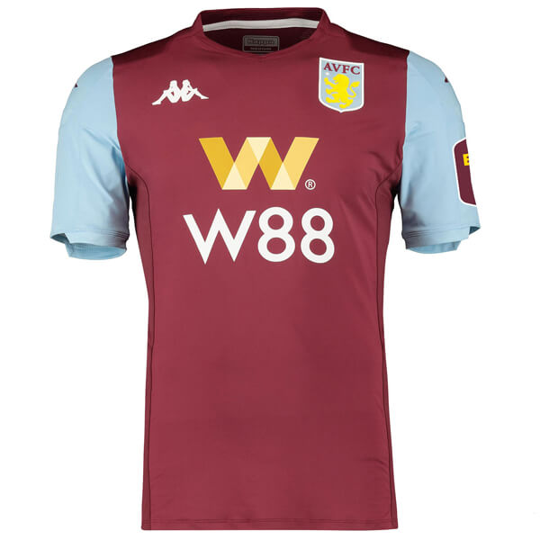 Aston Villa Home Football Shirt 19/20 - SoccerLord