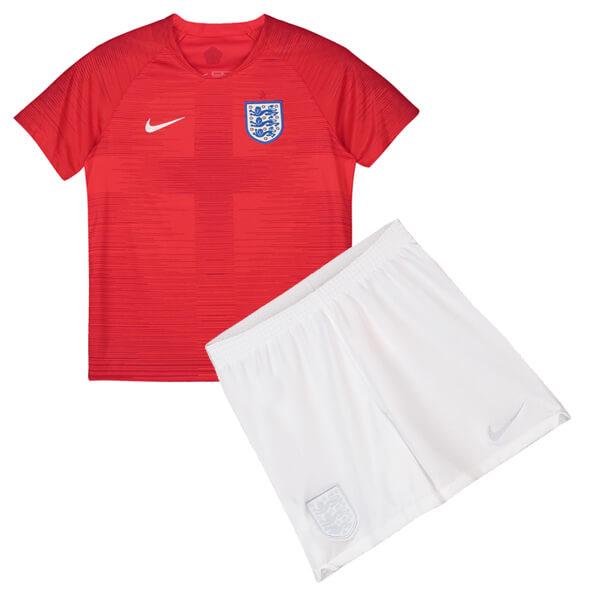 England 2018 World Cup Away Kids Football Kit - SoccerLord 31205ad4d