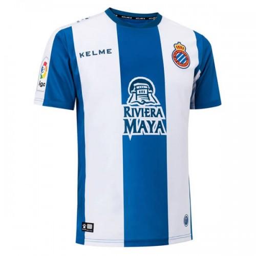 Espanyol Home Football Shirt 18 19