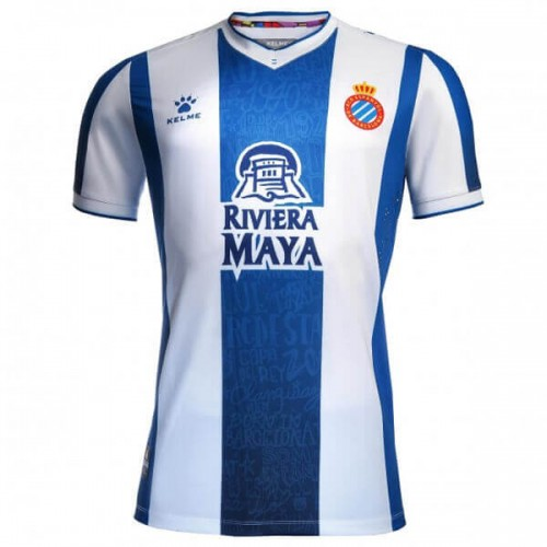 Espanyol Home Football Shirt 19 20