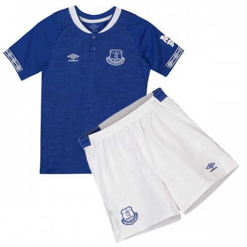 Everton Home Kids Football Kit 18 19