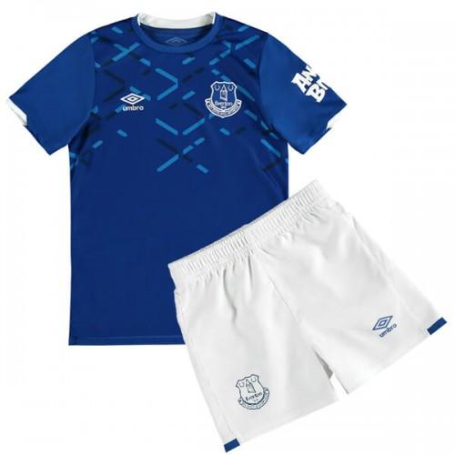 Everton Home Kids Football Kit 1920