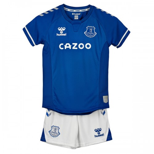 Everton Home Kids Football Kit 20 21