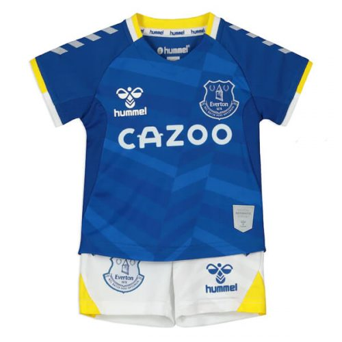 Everton Home Kids Football Kit 21 22