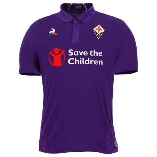 Fiorentina Home Football Shirt 1819