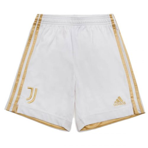 Juventus Home Football Shorts 20 21 - White