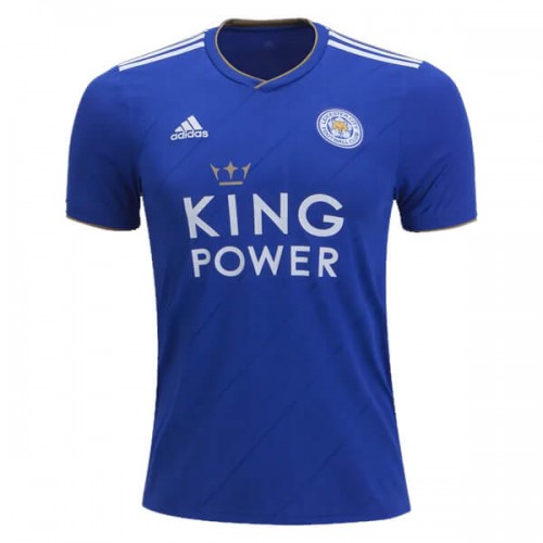 Leicester City Home Football Shirt 18 19