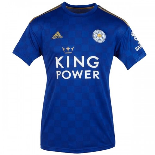 Leicester City Home Football Shirt 19 20