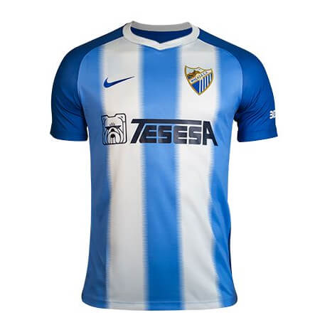 Malaga CF Home Football Shirt 18 19