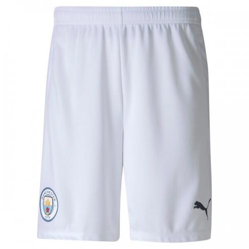 Man City Home Football Shorts 20 21