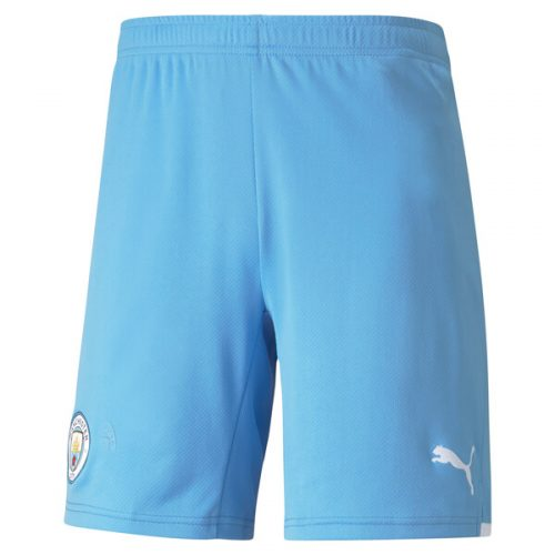 Manchester City Home Football Shorts 21 22