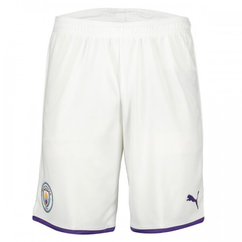 Manchester City Home Soccer Shorts 19 20