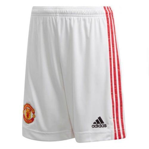 Manchester United Home Football Shorts 20 21