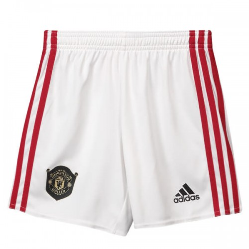 Manchester United Home Soccer Shorts 19 20