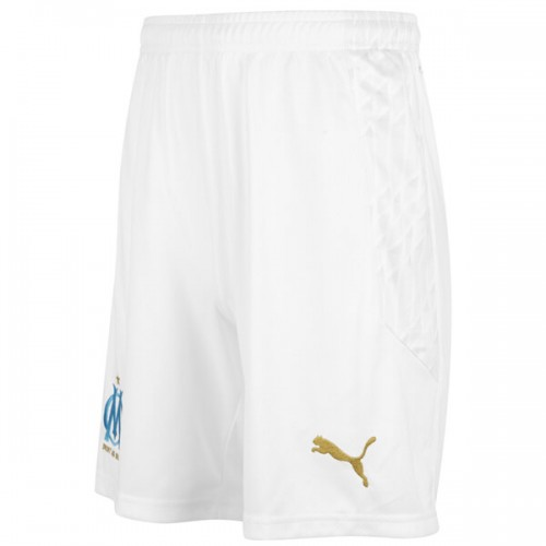 Olympique Marseille Home Football Shorts 20 21