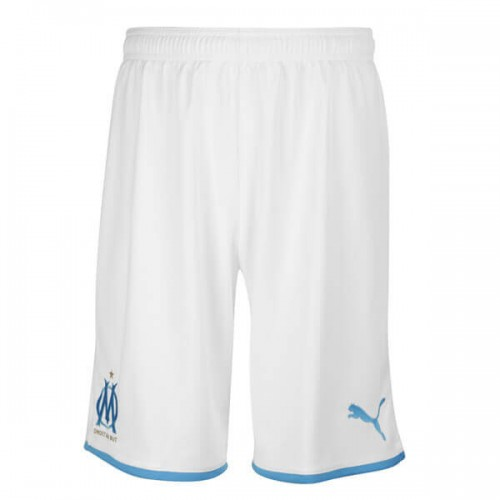 Olympique Marseille Home Soccer Shorts 19 20