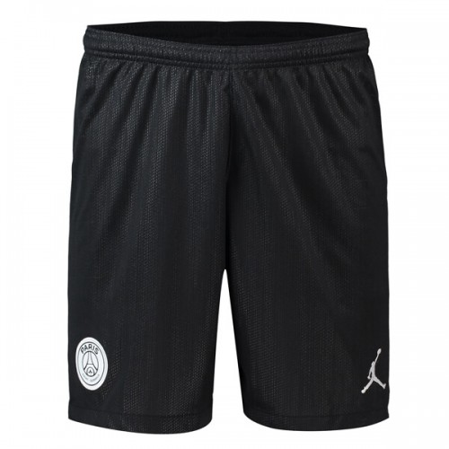 PSG 3rd Jordan Soccer Shorts 18 19 - Black