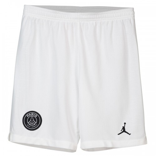 PSG 3rd Jordan Soccer Shorts 18 19 - White