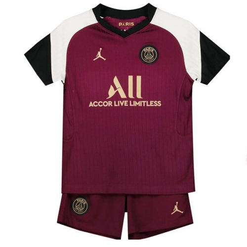 PSG Third Kids Football Kit 20 21