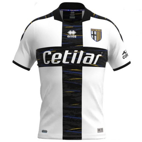 Parma Home Football Shirt 21 22
