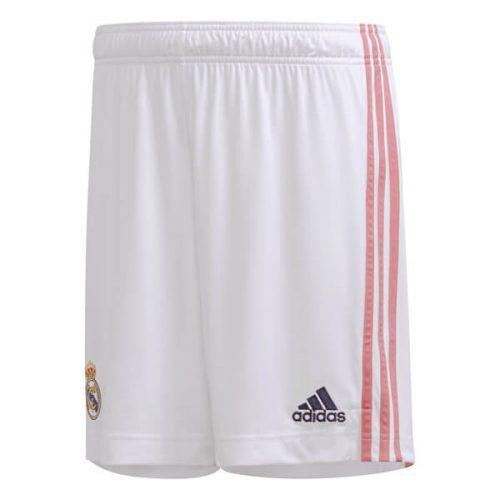 Real Madrid Home Football Shorts 20 21