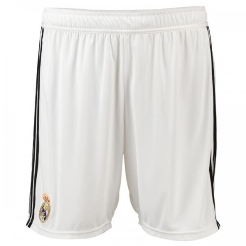 Real Madrid Home Soccer Shorts 18 19