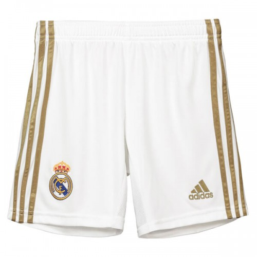 Real Madrid Home Soccer Shorts 19 20