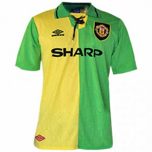 Retro Manchester United Football Shirt 92 - 94
