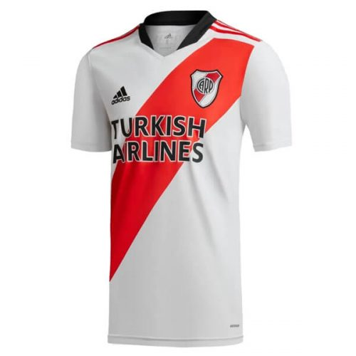 River Plate 120 Anniversary Home Soccer Jersey 2122