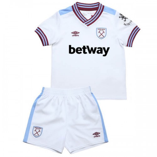 West Ham Away Kids Football Kit 19 20