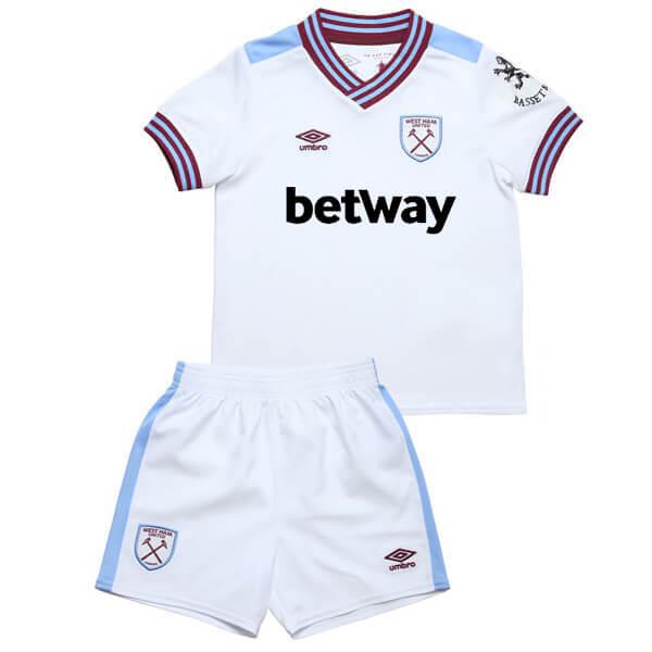 West Ham Away Kids Football Kit 19/20
