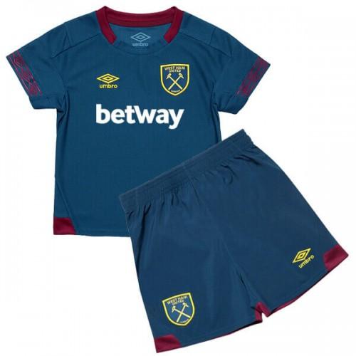 West Ham United Away Kids Football Kit 18 19