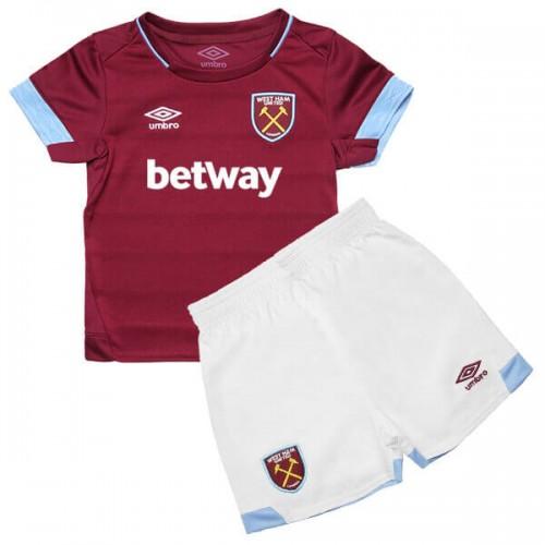 West Ham United Home Kids Football Kit 18 19