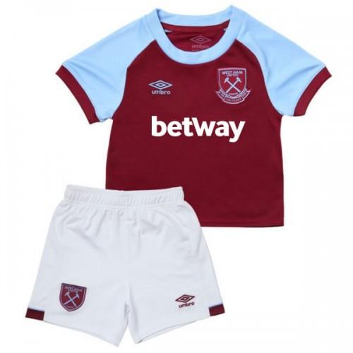 West Ham United Home Kids Football Kit 2021