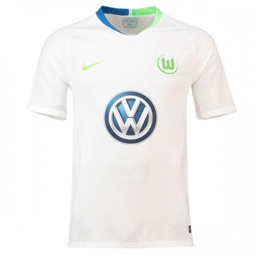 Wolfsburg Away Soccer Jersey 18 19