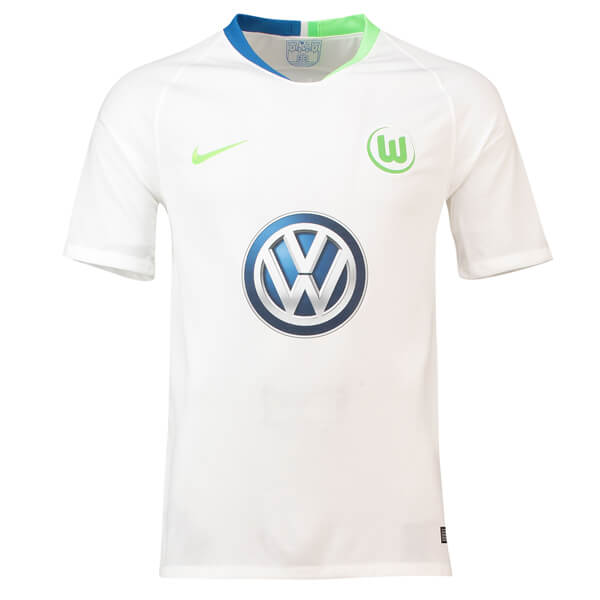 7de0fca62870 Wolfsburg Away Football Shirt 18 19 - SoccerLord