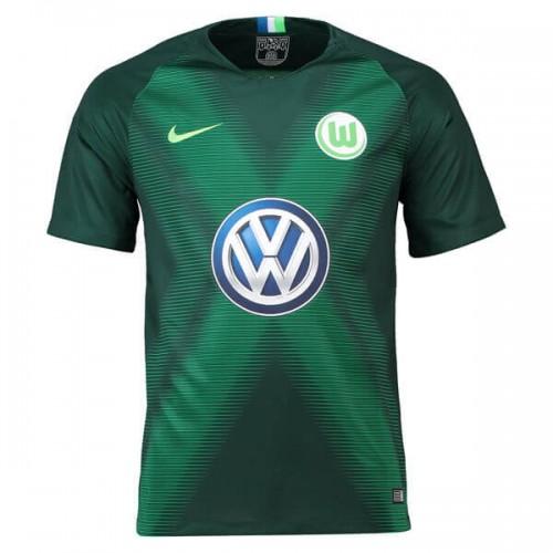 Wolfsburg Home Football Shirt 18 19