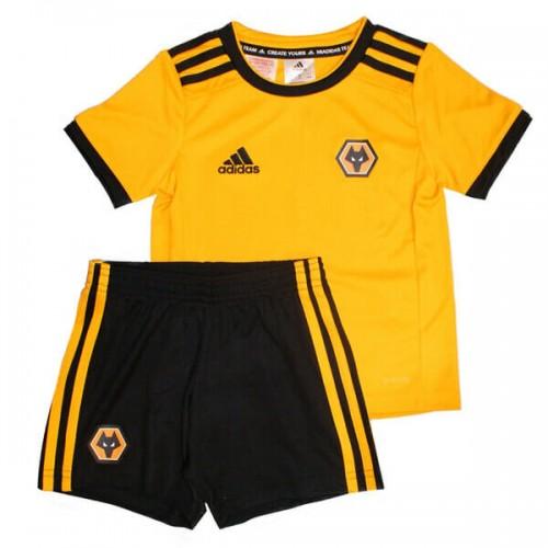 Wolverhampton Wanderers Home Kids Football Kit 18 19