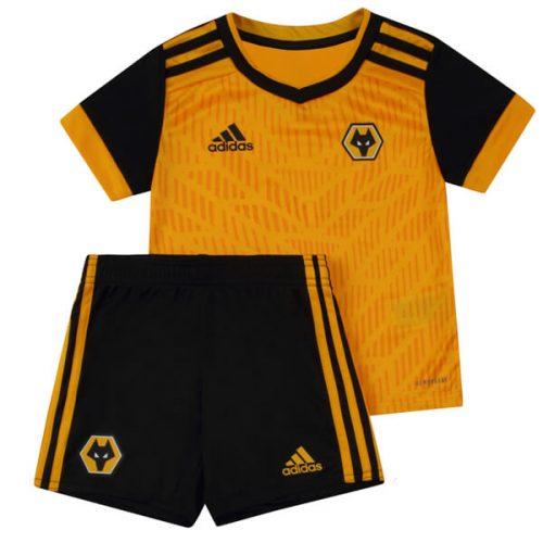 Wolverhampton Wanderers Kids Football Kit 20 21
