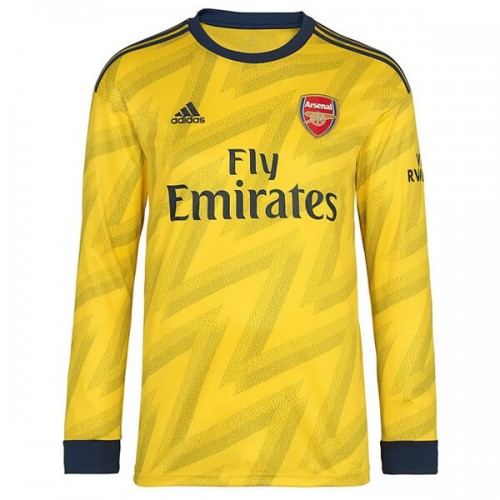 Arsenal Away Long Sleeve Football Shirt 19 20