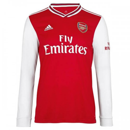 Arsenal Home Long Sleeve Football Shirt 19 20