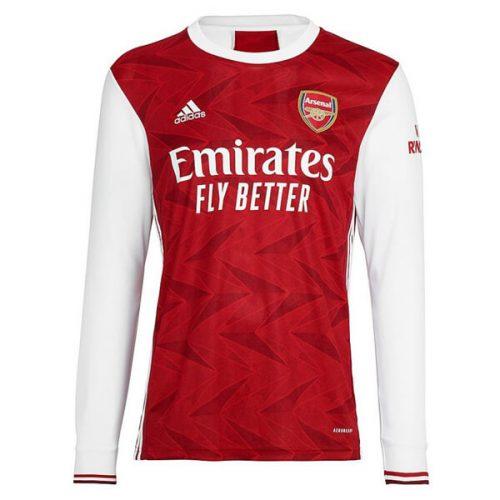 Arsenal Home Long Sleeve Football Shirt 20 21
