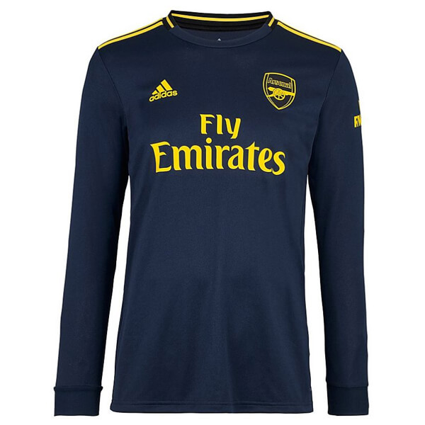 low priced 179a7 2e61f Arsenal Third Long Sleeve Football Shirt 19/20