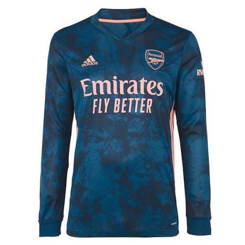 Arsenal Third Long Sleeve Football Shirt 20 21
