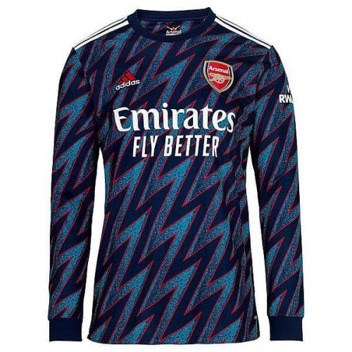 Arsenal Third Long Sleeve Football Shirt 21 22