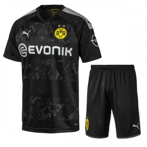 Dortmund Away Kids Football Kit 19 20