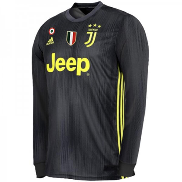 0577ed813 ... new zealand juventus 3rd long sleeve football shirt 1819 27b4d ed7d3