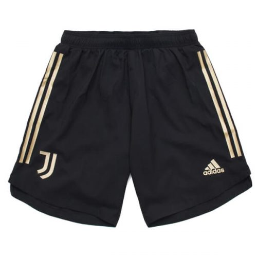Juventus Home Football Shorts 20 21 - Black